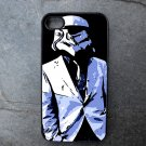 Storm Trooper in Suit Decorated iPhone 4,5,6 or 6plus Case