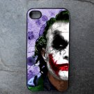 Joker on Purple Print Background Decorated iPhone4 or iPhone5 Case