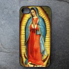 Our Lady of Guadalupe on Grey Background Decorated iPhone 4,5,6 or 6plus Case