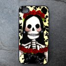 Bride on Yellow and Black Print Background Decorated iPhone 4,5,6 or 6plus Case