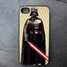 Darth Vader on Yellow Print Background Decorated iPhone 4,5,6 or 6plus Case