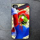 Killer Mario Print Decorated iPhone 4,5,6 or 6plus Case