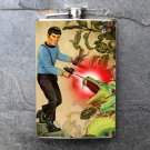 Stainless Steel Flask - 8oz., Star Trek Spock Shooting Ray Gun