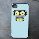 Futurama's Bender Decorated iPhone4 or iPhone5 Case