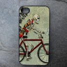 Day of the Dead Skeleton on Bike Decorated iPhone 4,5,6 or 6plus Case
