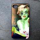 Mariyln Monroe as a Zombie Print Decorated iPhone4 or iPhone5 Case
