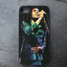Bob Marley Print Decorated iPhone4 or iPhone5 Case
