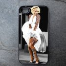 Tattooed Marilyn Monroe Print Decorated iPhone4 or iPhone5 Case