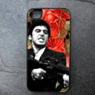 Al Pacino on Rose Print Background Decorated iPhone4 or iPhone5 Case