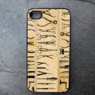 Medical Tool Print Decorated iPhone4 or iPhone5 Case