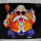 Hand Decorated Wallet, Master Roshi Dragon Ball-Z Print