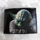 Hand Decorated Wallet, Yoda Print
