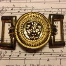 Retro Gold Tone Metal Lion Jewelry Finding