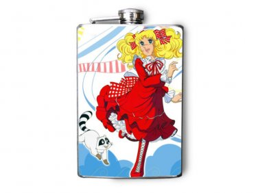 Stainless Steel Flask - 8oz., Red Dress Sailor Moon