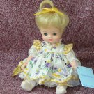 "Madame Alexander Doll, Blonde ""Sunny Kitten"", 8"""