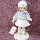 "1988 Effanbee Li'l Innocents ""Sandy"" Doll with Original Box, Stand and Tag, #2818"