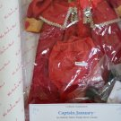 "Shirley Temple Dress Up Doll Outfit ""Captain January"", 1994 by Danbury (MIB)"