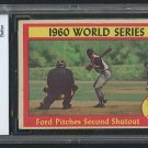 Retro Baseball Card, World Series Game 6, Whitey Ford, BCCG 7, 1961 Topps #311
