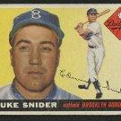 Retro Baseball Card, Duke Snider 1955 Topps #210
