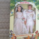 """The Wedding of Snow White"" Disney Cinderella Collection, 11 1/2"" Dolls, New in Box, by Bikin"