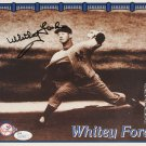 Whitey Ford Signed Yankees 8x10 Photo
