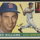 Retro Baseball Card, Ted Williams 1955 Topps #2