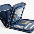 Blue iPad mini 4 Clutch with Apple iPad mini Business Carrying Purse Portfolio Case