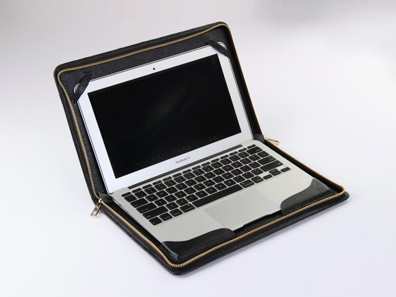 Leather Case Macbook Pro with Retina 15 inch Leather Briefcase for Apple with Retina Carrying