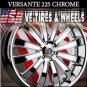 CHROME WHEELS 225 26X10 6.139.7 ET+25 CHROME  GMC YUKON CHEVY TAHOE CADILLAC ESCALADE
