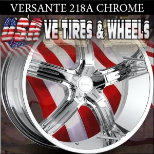 CHROME WHEELS 218 22X9.5 5.120 ET+20 CHROME