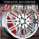 VERSANTE 203 20X8.5 5.114.3 ET+35 CHR NISSAN MAXIMA  CADILLAC STS