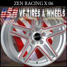 SILVER WHEELS X06 16X7 4-100/114.3 ET+38 HONDA CIVIC  KIA RIO