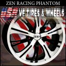 TUNER WHEELS PHANTOM3 17X7 5.100/114.3 ET+38 BLK MF ML  DODGE NEON JETTA NISSAN MAXIMA