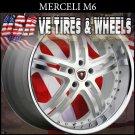 MERCELI M6 22X8.5  5X112 ET+32 WHITE MF SS/L  MERCEDES  AUDI   PASSAT