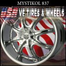 MYSTIKAL 837 20X8.5 5.112/114.3 ET+35 CHROME  MERCEDES DODGE CALIBER
