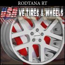 RODTANA RT 22X9.5 BLANK ET+15 CHROME CUSTOM DRILL MOST VEHICLES