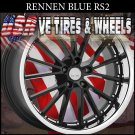RS2 2-20X8.5 BLANK ET+20 RS2 2-20X10 BLANK ET+20 GL BLK FACE SSL DRILL MOST CARS