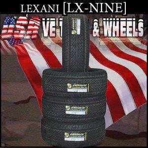 2752524 LEXANY LX NINE      NEW TIRE  275/25/24 LEXANY W