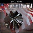 PHINO98  CHROME CAP               PART#CSPW98-1P      VELOCITY U2  TYFUN