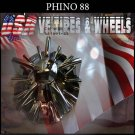 PHINO88  CHROME CAP               PART#CSPW88-1P/SJ100-22   VELOCITY U2  TYFUN