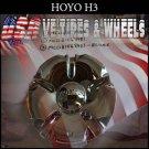 HOYO H3 CHROME CAP               PART#MCD8156YA01   VELOCITY U2  TYFUN