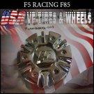 F5-RACING 85    CHROME CAP    WHEELS         #F5-85-1875/tiangong-003  VELOCITY