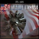 F5-RACING 105    CHROME CAP    WHEELS         #CF510502    VELOCITY  U2  TYFUN