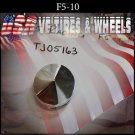 F5-10 PUSH THRU   CHROME CAP    WHEELS         #TJ05163/F5-10