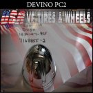 DEVINO CAP  PUSH THRU PC2   PANTHER  WHEELS  #DC-M2/S305-19 DV011/X1834147-9SF