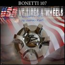 BONETTI  107  CHROME CAP    WHEELS         #PD-CAPSX-P1019