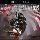 BONETTI  104  CHROME CAP    WHEELS         #PD-CAPSX-P5131