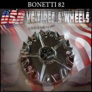 BONETTI 82 CHROME CAP    WHEELS         #C002601CAP