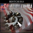 BENTCHI B13 CHROME CAP     VELOCITY BENTCHI  #SJ810-10/CS418-1P