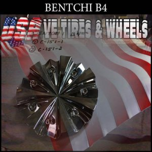 BENTCHI B4 CHROME CAP     VELOCITY BENTCHI  #C-151-2